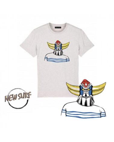 T-Shirt Goldorak Le Matelot Ocean Park, shop New Surf à Dinan, Bretagne