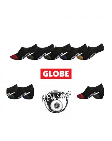 Lot de 5 chaussettes invisibles 71629011 Globe, shop New Surf à Dinan, Bretagne