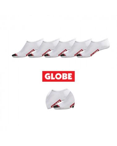 Lot de 5 paires de chaussettes invisibles 711819033 Globe, shop New Surf à Dinan, Bretagne