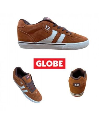 Chaussures Encore 2 Globe, Couleur marron/crème, shop New Surf à Dinan, Bretagne