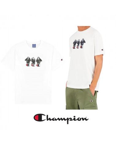 T-Shirt Rochester 1919 à imprimé animal Champion, shop New Surf à Dinan, Bretagne