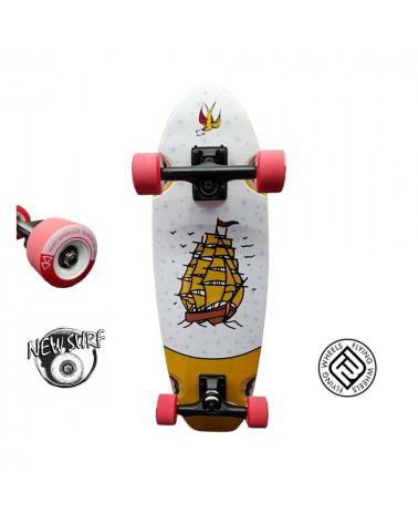 Skateboard Cruiser Galion Flying Wheels, shop New Surf à Dinan, Bretagne