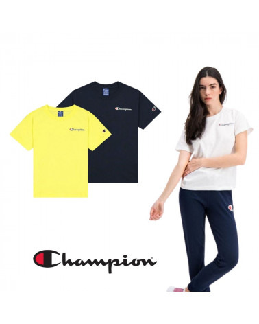 T-shirt manches courtes à logo vintage Champion, shop New Surf à Dinan, Bretagne