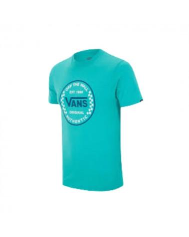T-shirt Authentic Checker Vans, shop New Surf à Dinan, Bretagne