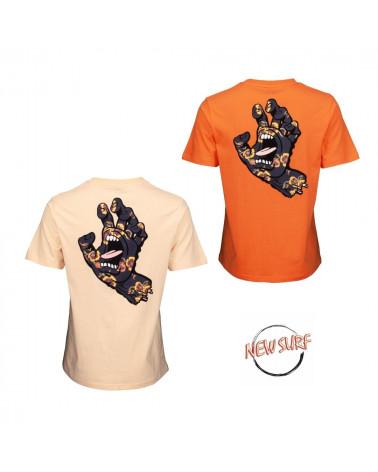 T-Shirt Poppy Hand Santa Cruz, shop New Surf à Dinan, Bretagne