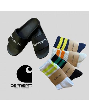 Claquettes Slippers Carhartt, shop New Surf à Dinan, Bretagne