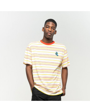 T-Shirt Mini Hand Stripes Santa Cruz, shop New Surf à Dinan, Bretagne