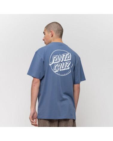 T-Shirt Opus Dot Stripe Santa Cruz, shop New Surf à Dinan, Bretagne