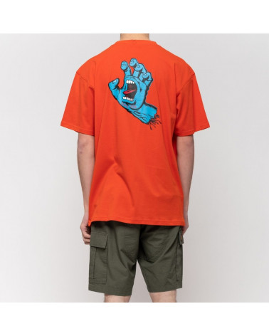 T-Shirt Scream Hand Chest Santa Cruz, shop New Surf à Dinan, Bretagne