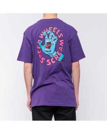 T-Shirt Scream Hand Santa Cruz, shop New Surf à Dinan, Bretagne