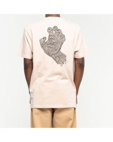T-Shirt Muerte Scream Hand Santa Cruz, shop New Surf à Dinan, Bretagne
