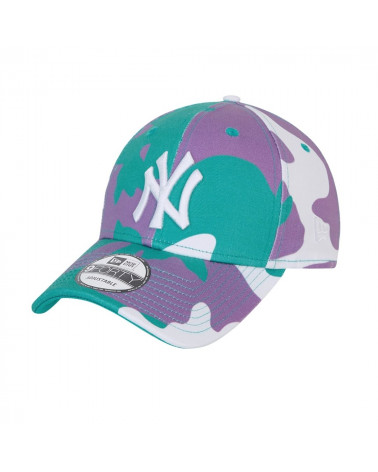 Casquette New York Yankees Camo pack Teal 9Forty New Era, shop New Surf à Dinan, Bretagne