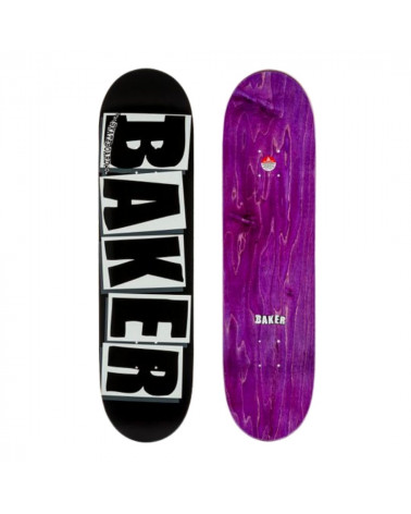 "Board Baker Brand Logo White 8,125"", shop New Surf à Dinan, Bretagne"