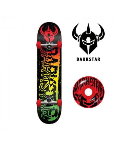 "Board complète Darkstar Vhs Rasta 7,5"", shop New Surf à Dinan, Bretagne"