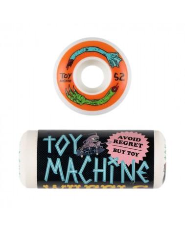 Roues Toy Machine Fos Arms 52mm 100A (Pack de 4), shop New Surf à Dinan, Bretagne