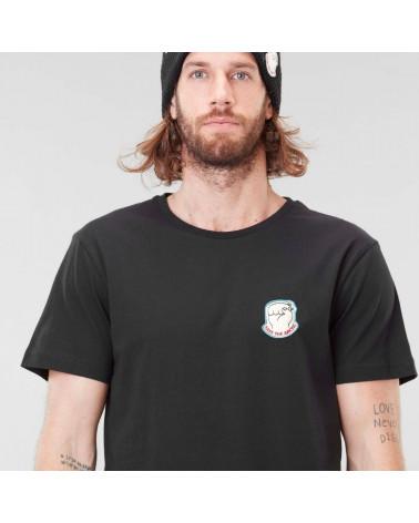 T-Shirt Badge Bear Picture (MTS860), shop New Surf à Dinan, Bretagne