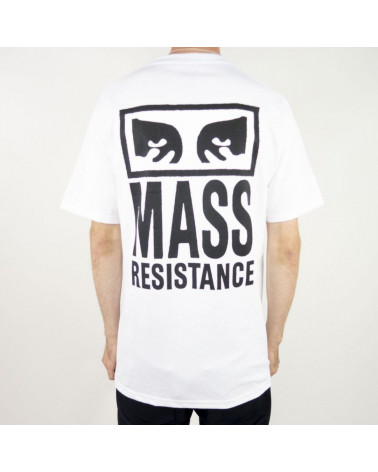 T-Shirt Mass Resistance Obey, shop New Surf à Dinan, Bretagne