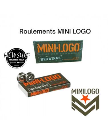 Boite de 8 roulements Mini Logo, shop New Surf à Dinan, Bretagne