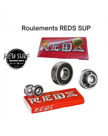 Boite de 8 roulements Reds supérieur, shop New Surf à Dinan, Bretagne