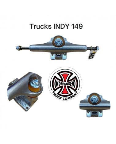 Truck Indy 149 mm, shop New Surf à Dinan, Bretagne