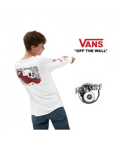T-shirt manches longues Rose bed Vans, shop New Surf à Dinan, Bretagne