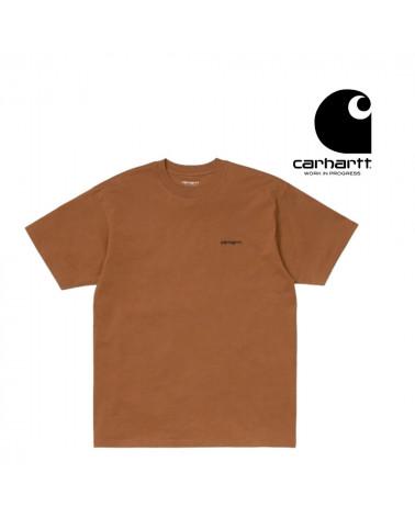 T-Shirt Script Emboired Carhartt, shop New Surf à Dinan, Bretagne